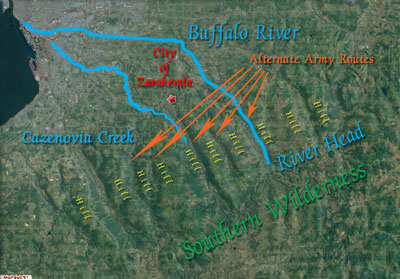 Buffalo River Land Terrain