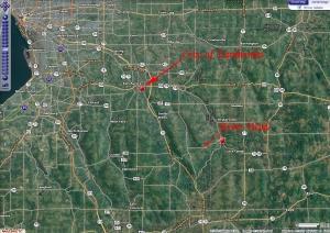 Buffalo River Street Map