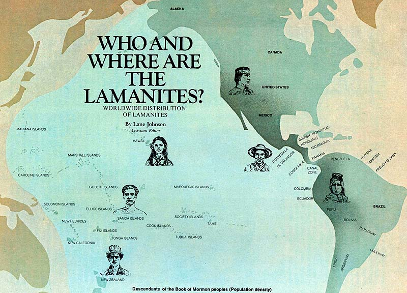 "Lane Johnson, ""Who and Where Are the Lamanites?"" Ensign, Dec. 1975"