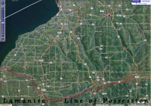 Lamanite Line of Possession