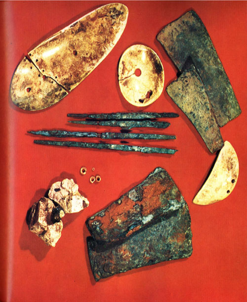 Ontario Prehistory Metal Tools Dated 1000 BC