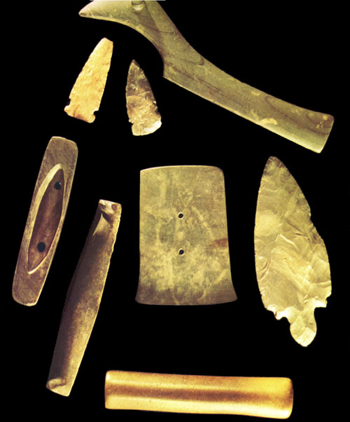 Ontario Prehistory Tools Dated 1000 BC