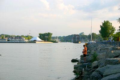 East Sea Ontario Lake