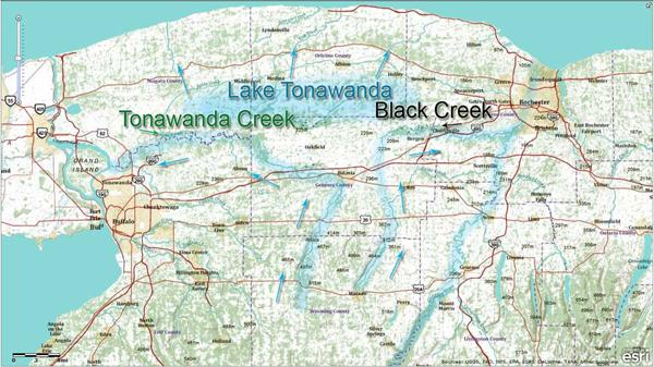 Tonawanda Creek and Black Creek