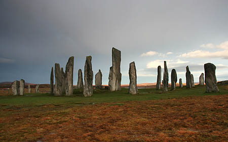Callanish Stone Ring Scotland