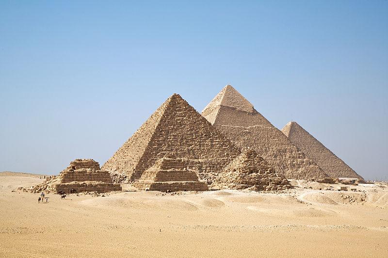 Gizah Pyramids Egypt