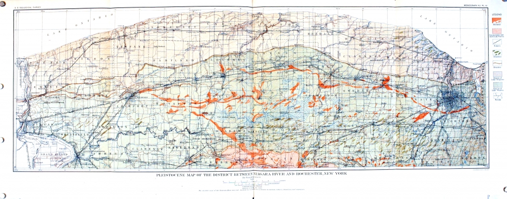 Frank Leverett – Glacial formations and drainage features of the Erie and Ohio basins, 1902