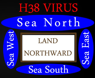Land Northward - Surrounded by Four Seas