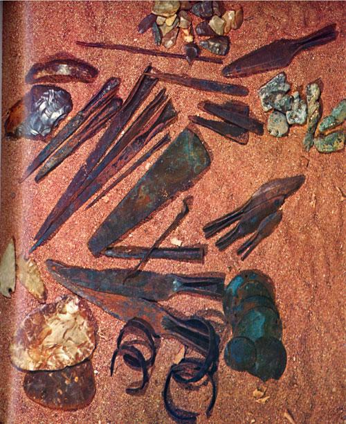 Ontario Prehistory Metal Tools Dated 1500 BC